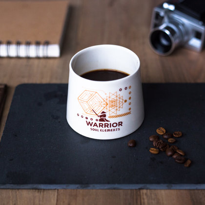 Handmade cup - Earth Warrior